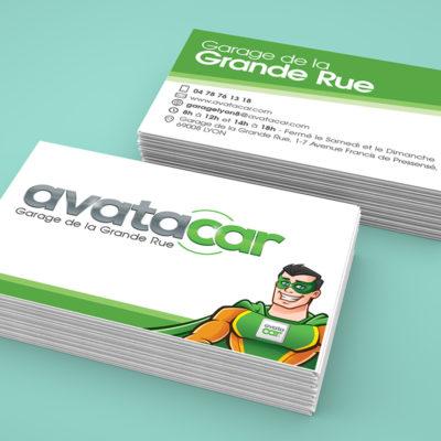 Cartes de visite Avatacar
