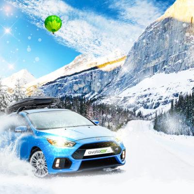 Ambiance hiver webdesign