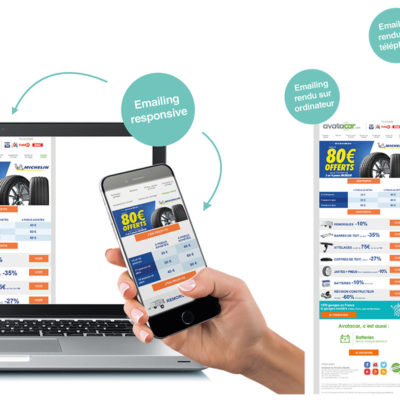 Emailing responsive Offre promotionnelle